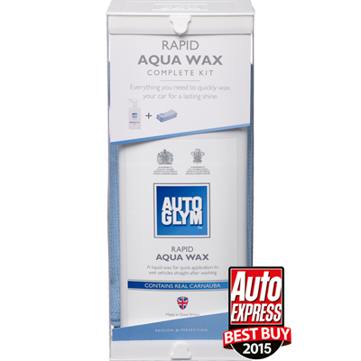 Rapid Aqua Wax Kit- Auto Express award 400x400