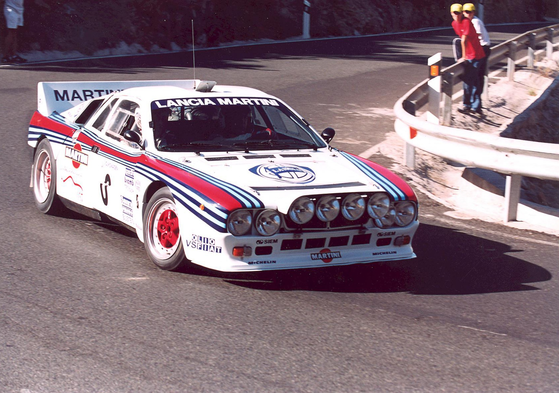 If anyone could make rear wheel drive and Group B together, it was Lancia