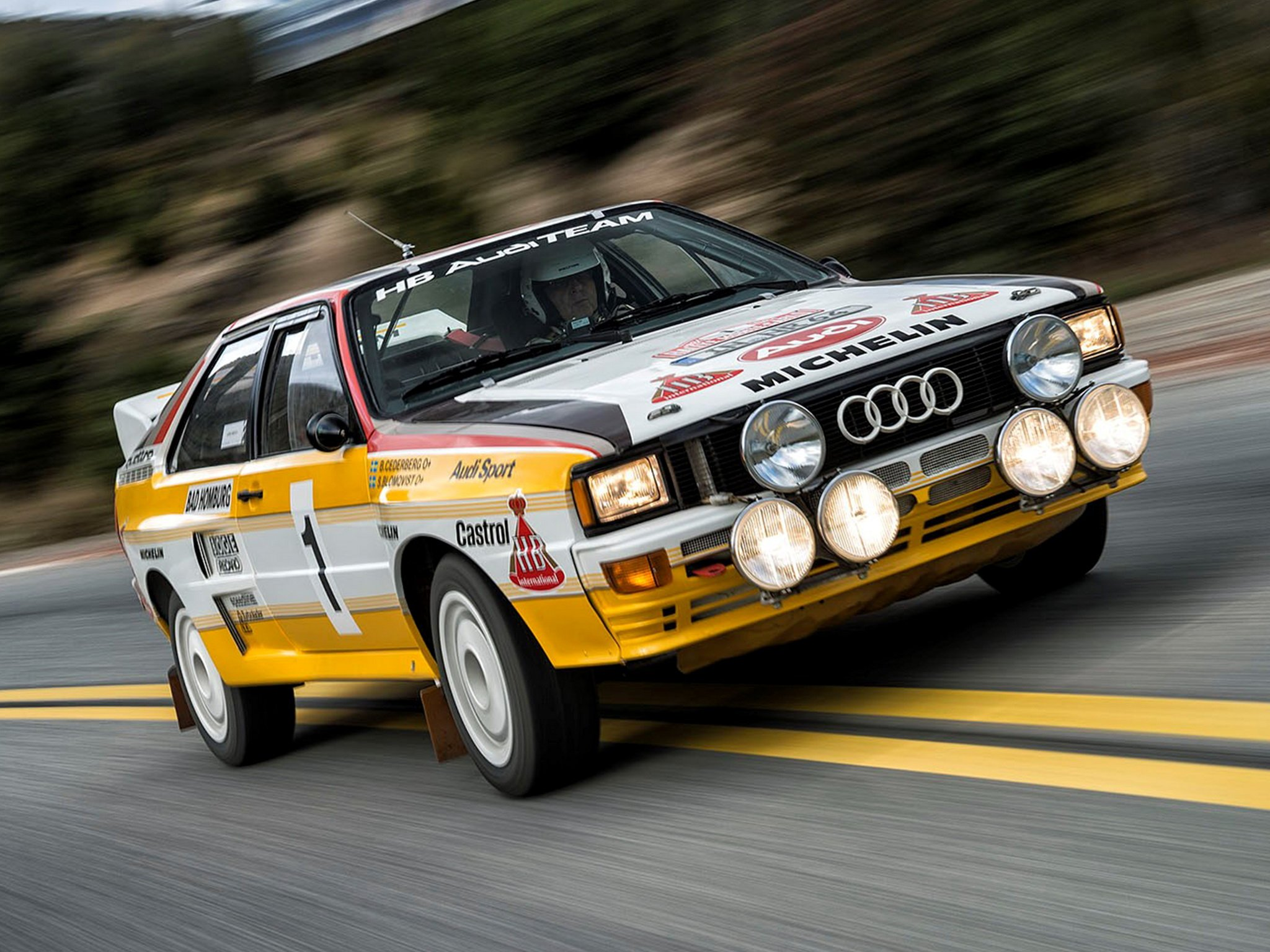 Despite a string of reliably issues, the original A1/A2 Quattro was the dominant force in early '80s rallying