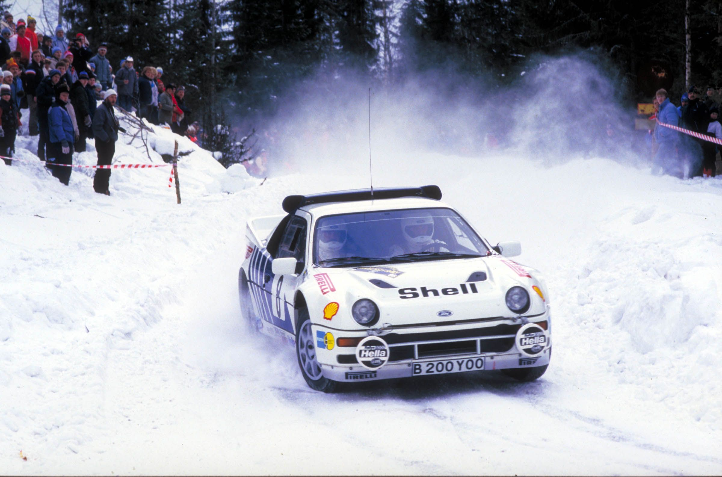 Late to the party, the Ford RS200 looked to have all the makings of a WRC winner, it simply ran out of time