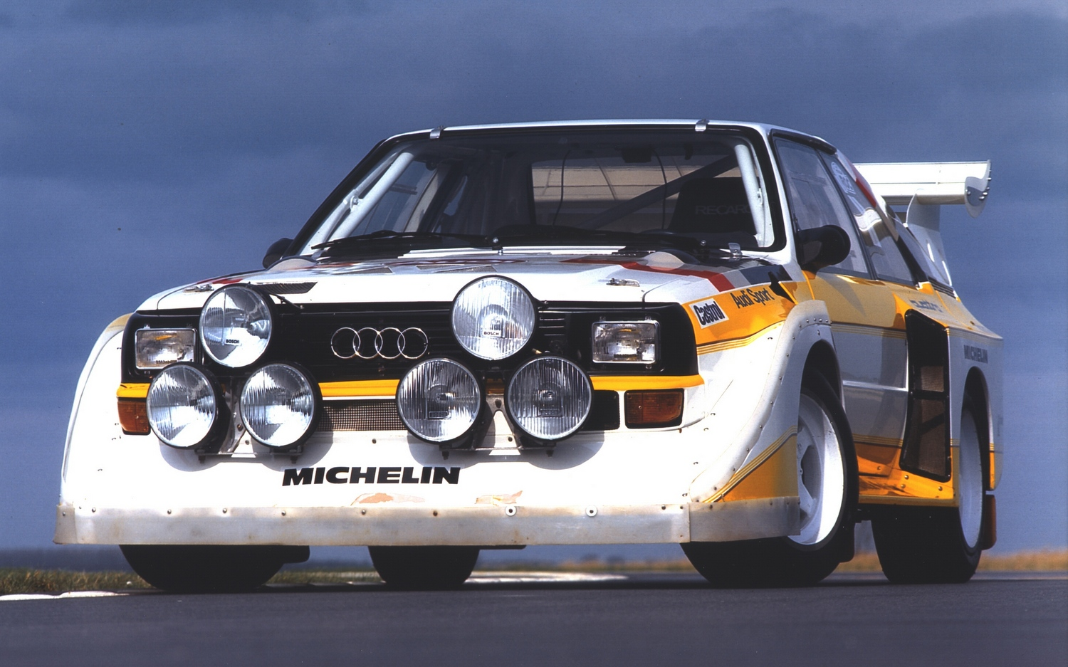 The S1 E2 was the ultimate Quattro, a be-winged monster that allowed Audi to snatch a final Group B win