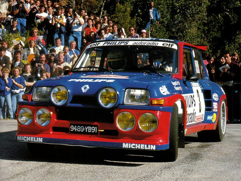 The rip-snorting Renault 5 Maxi was able to win the 1985 Tour de Corse