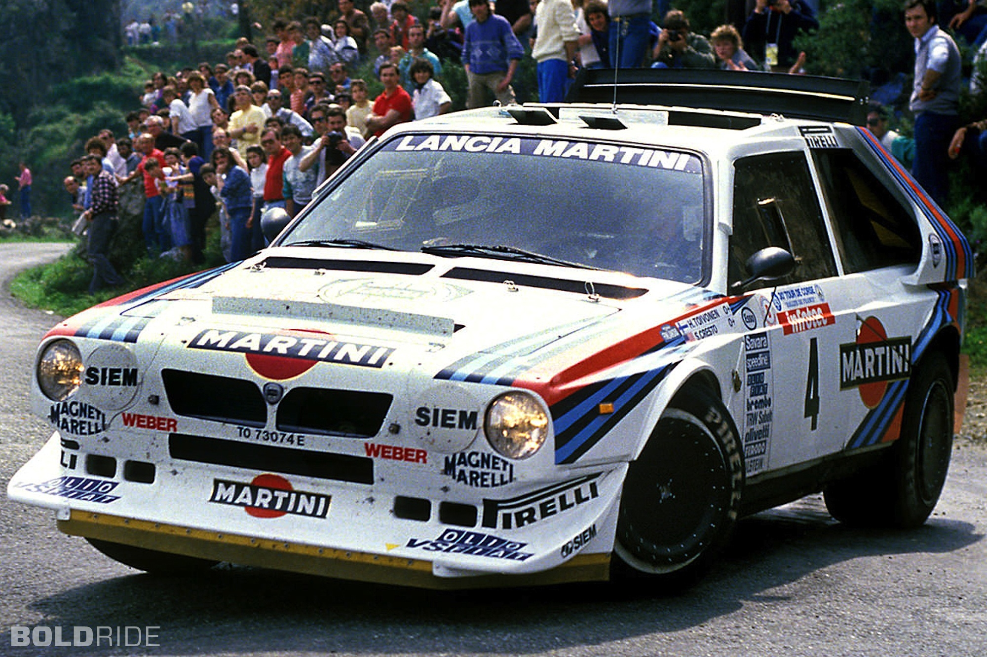 The Delta S4 was brutally fast and hard to control at the ragged edge, a point underlined by the tragic events at the 1986 Tour de Corse