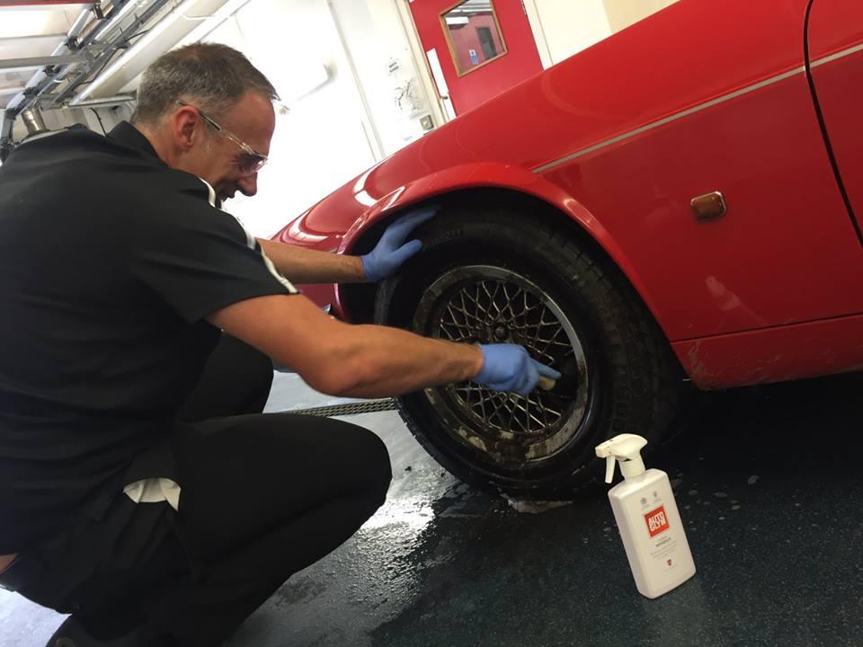 Clean Wheels is Autoglym's premier alloy wheel cleaner