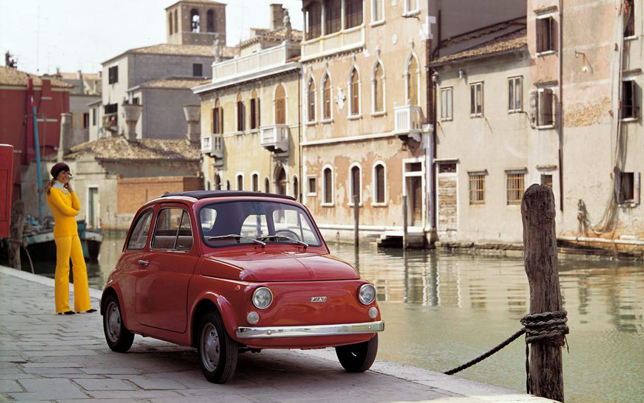 The original 500 helped post-war Italy fall in love with the internal combustion engine
