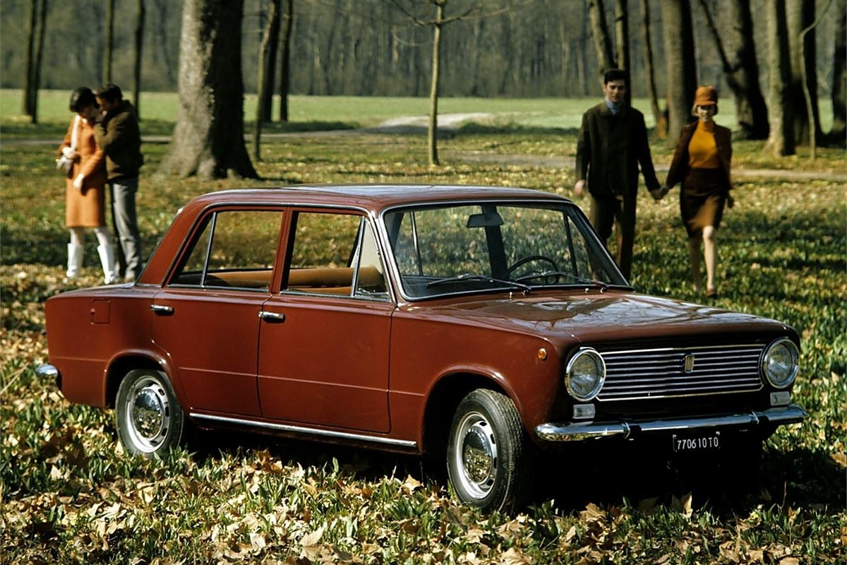 The Fiat 124 sold in its millions, then, after it'd been fitted with a Lada badge, went on to help soviet Russia to get mobile