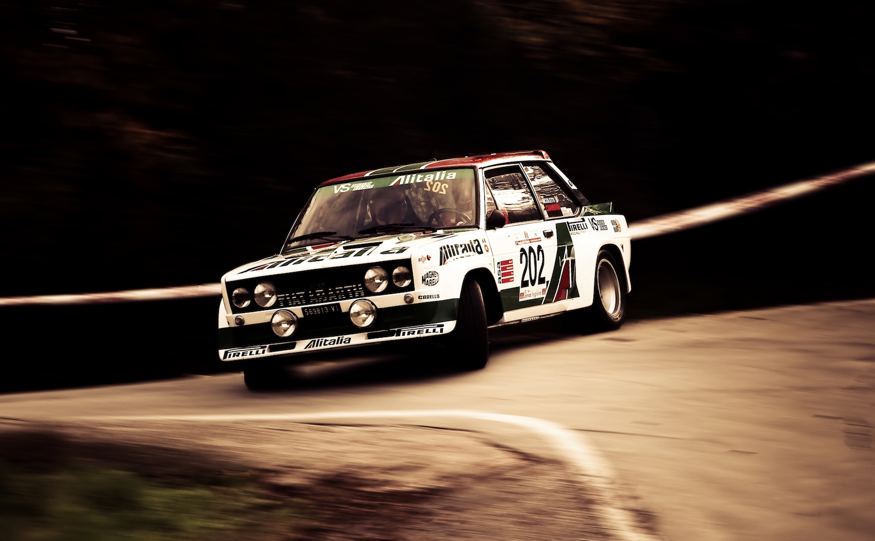 The Escort might be better known on this side of the channel, yet the 131 Abarth was the more successful rally car