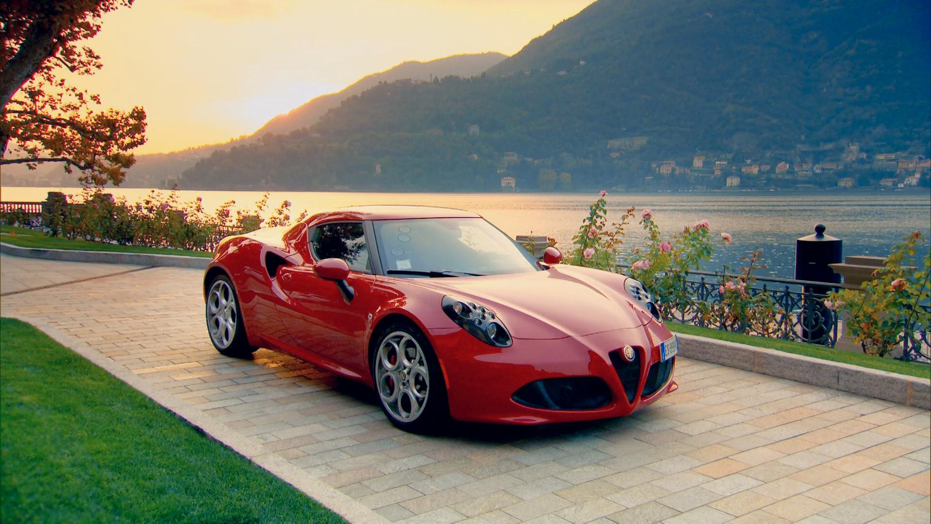 The 4C has the looks, the power and the badge, it's just a shame its chassis isn't quite up to the task