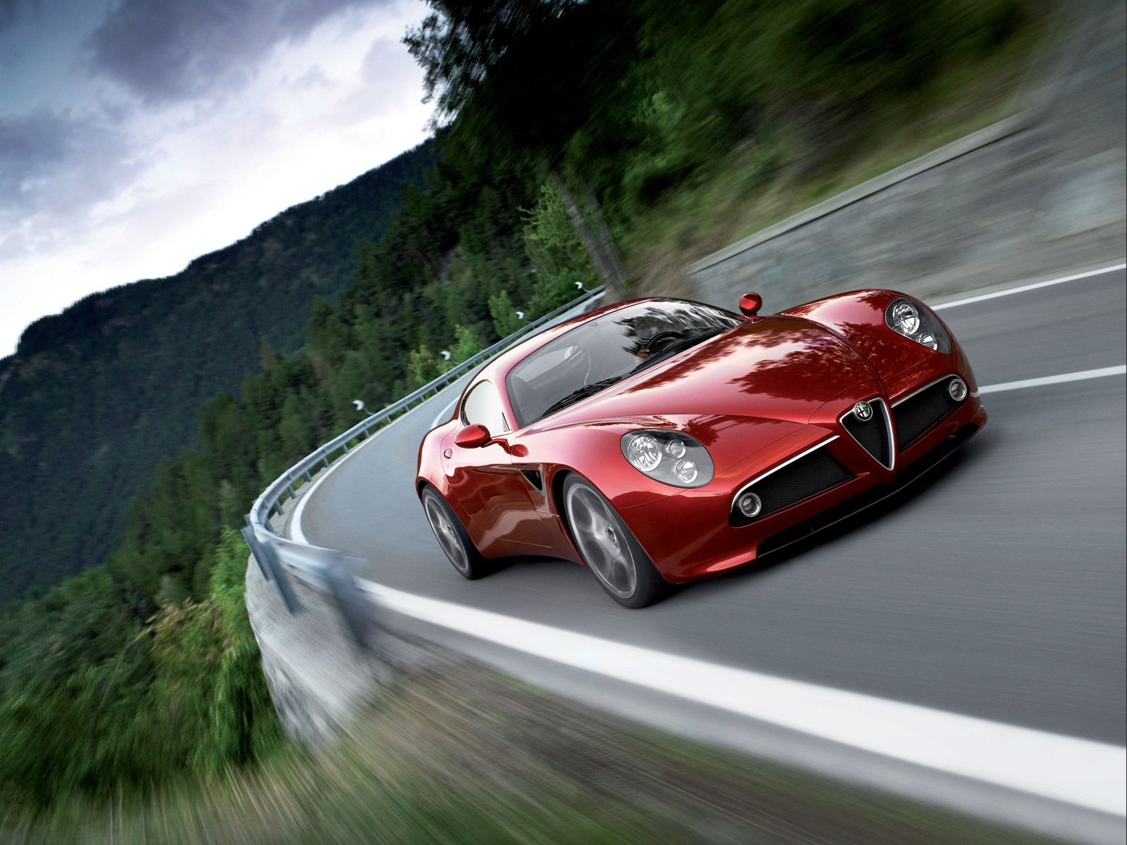 The 8C Competizione is far and away the best looking Alfa of recent times