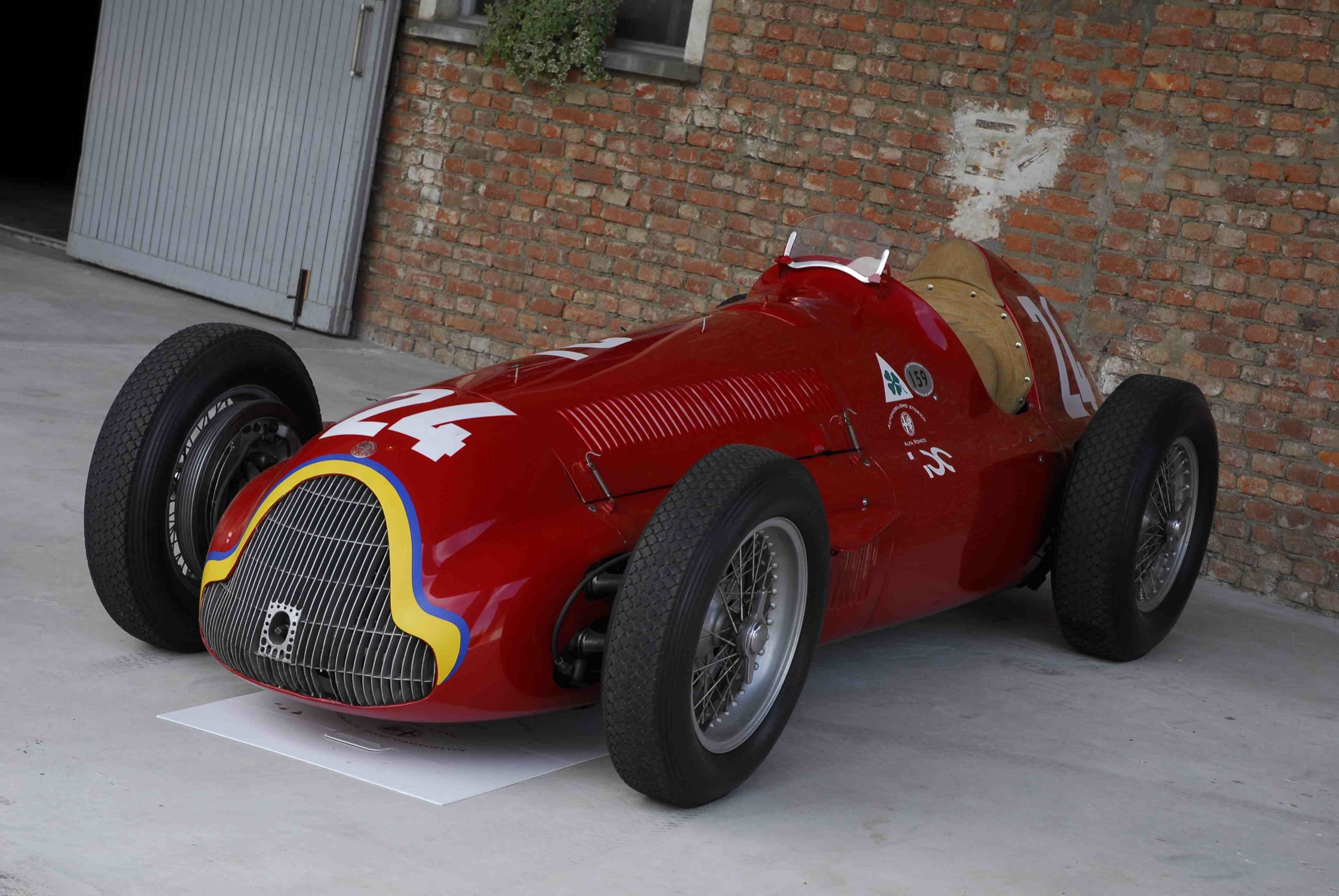 Cars like the Alfetta 159 helped establish Alfa Romeo as a motorsport force to be reckoned with