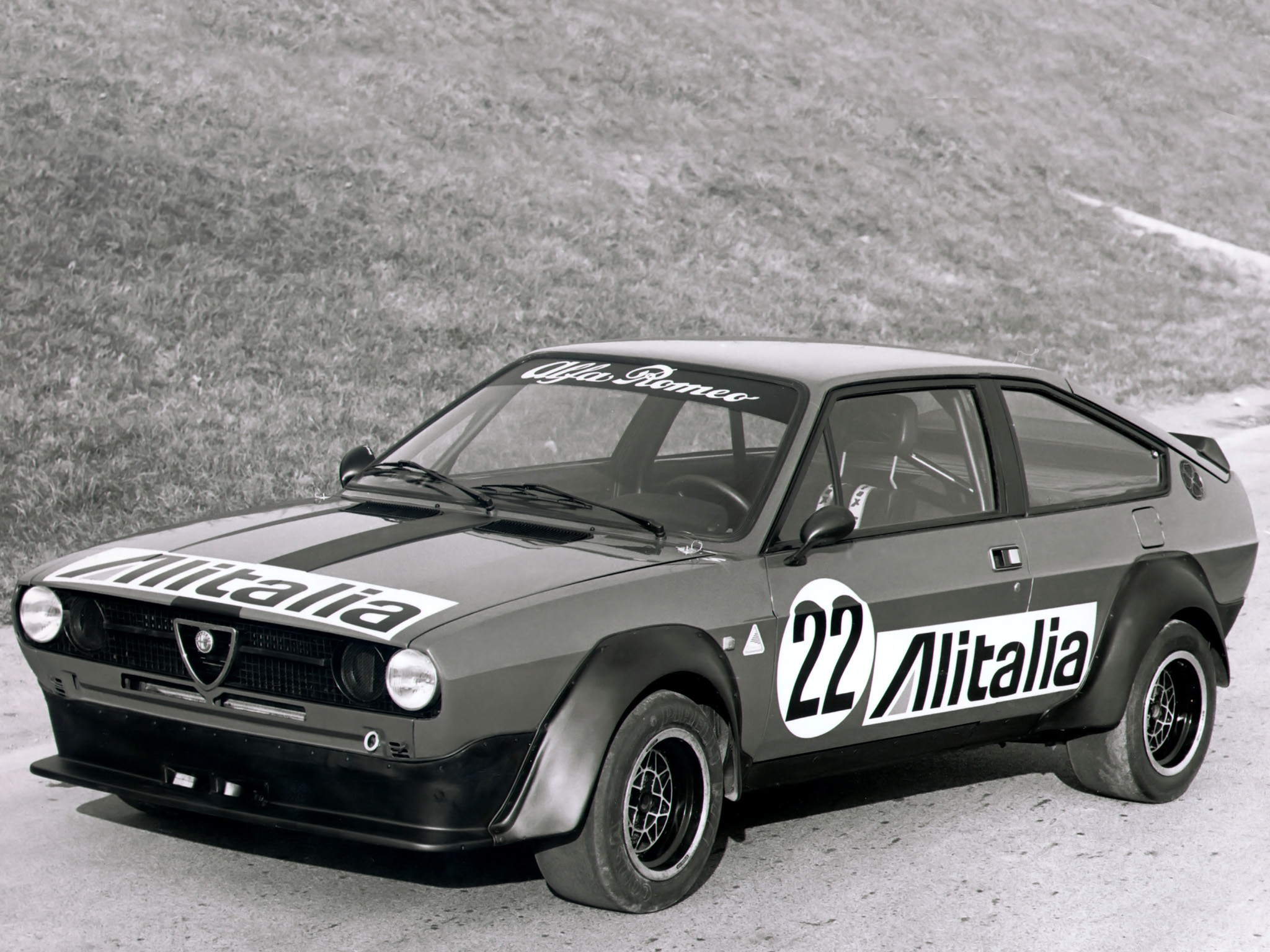 The Alfasud looked its best in sporting Sprint guise