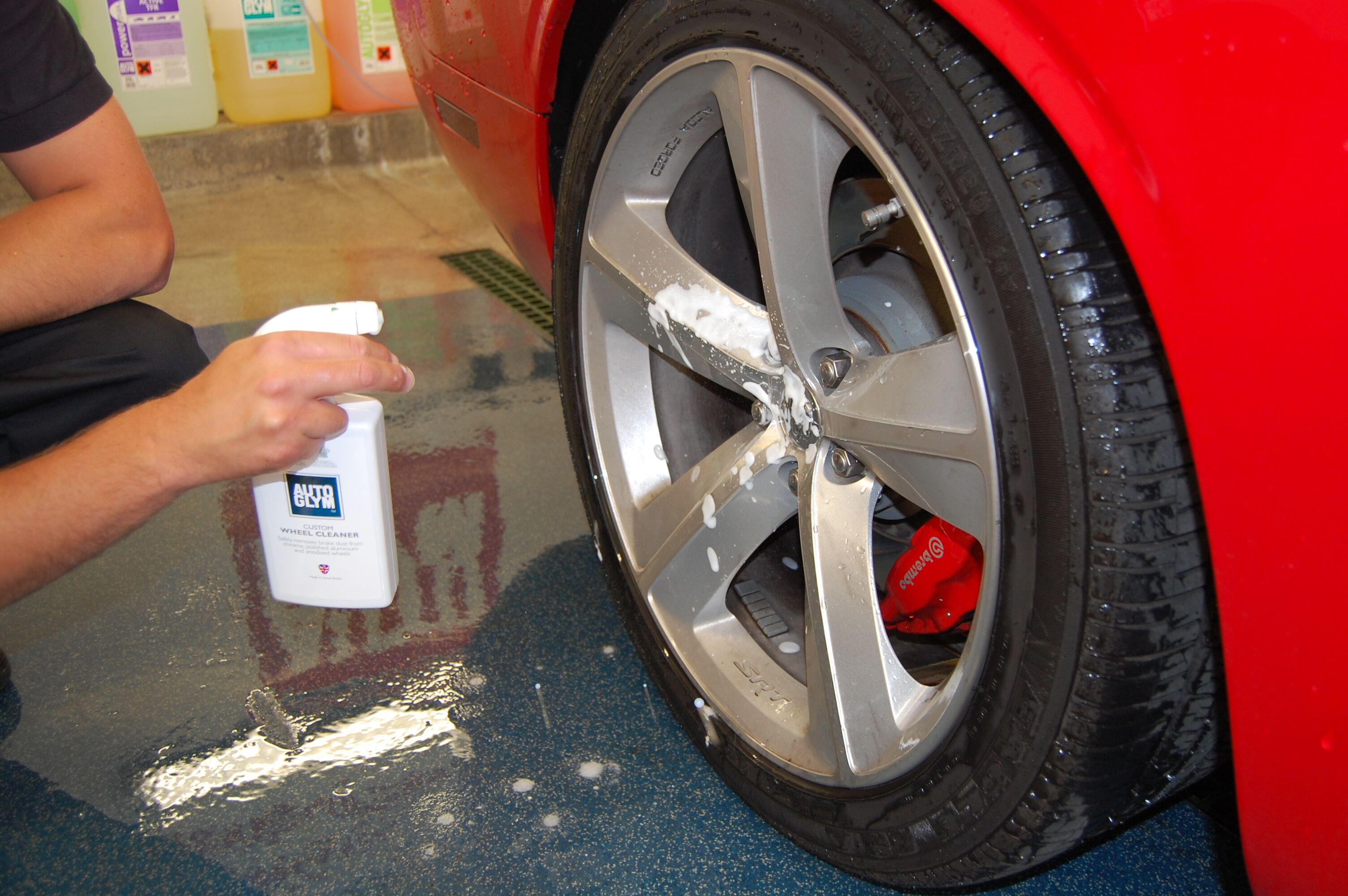 Custom Wheel Cleaner is an essential tool in the war on grubby alloys