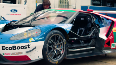 Pit Stop Practice With Ford GT Le Mans Team