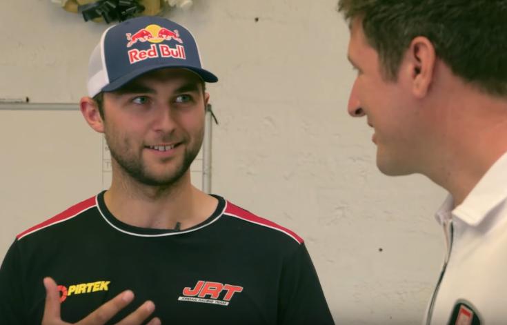 Autoglym visit Andrew Jordan's Classic Racing Garage