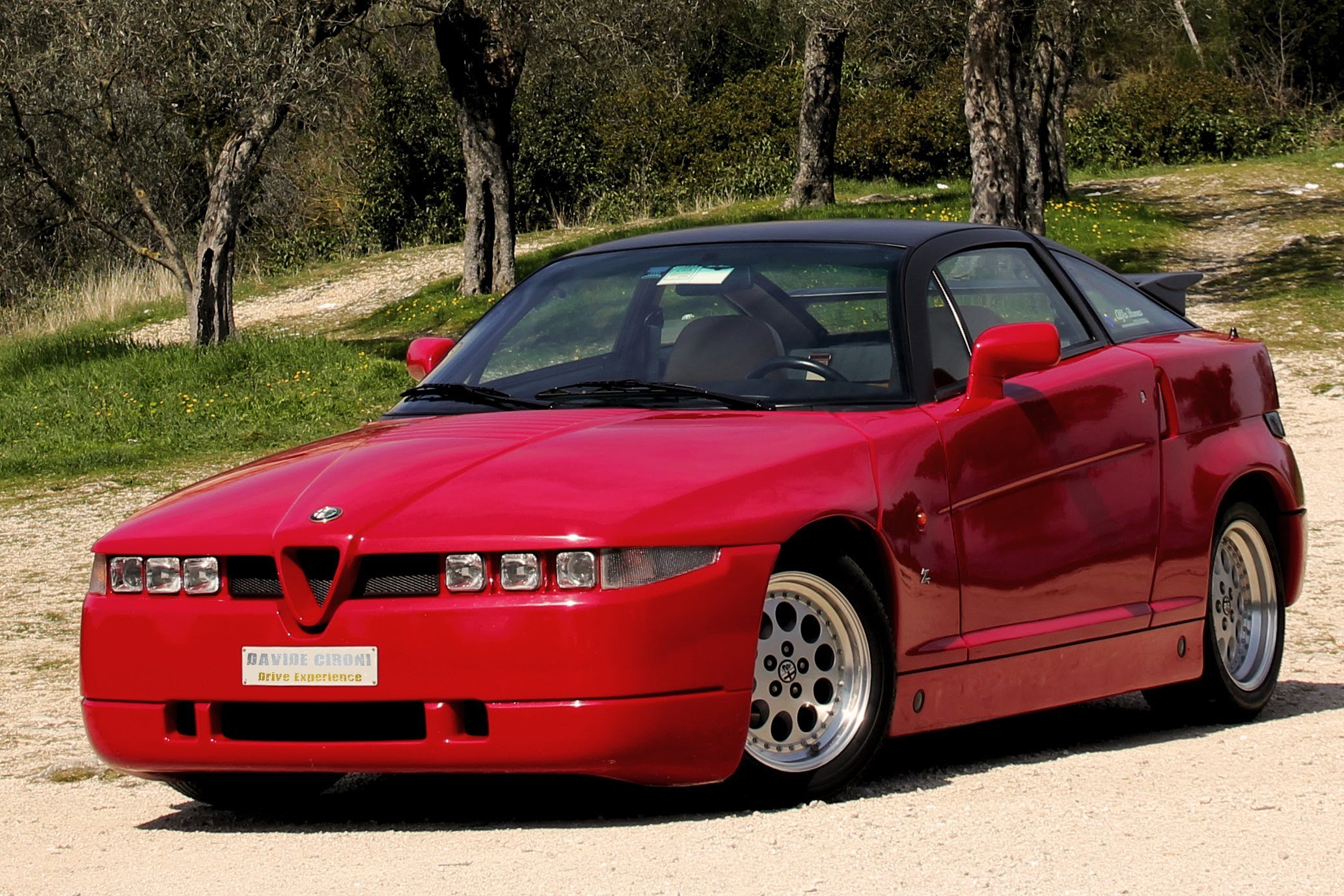 From some angles the Alfa Romeo looked purposeful, from others...not so much