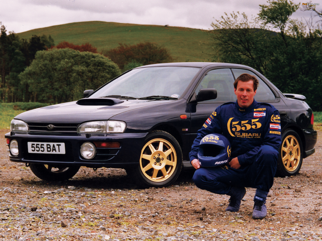 It didn't take Subaru very long to begin capitalising on its WRC success, and the Series McRae was the first in a long line of rally inspired specials