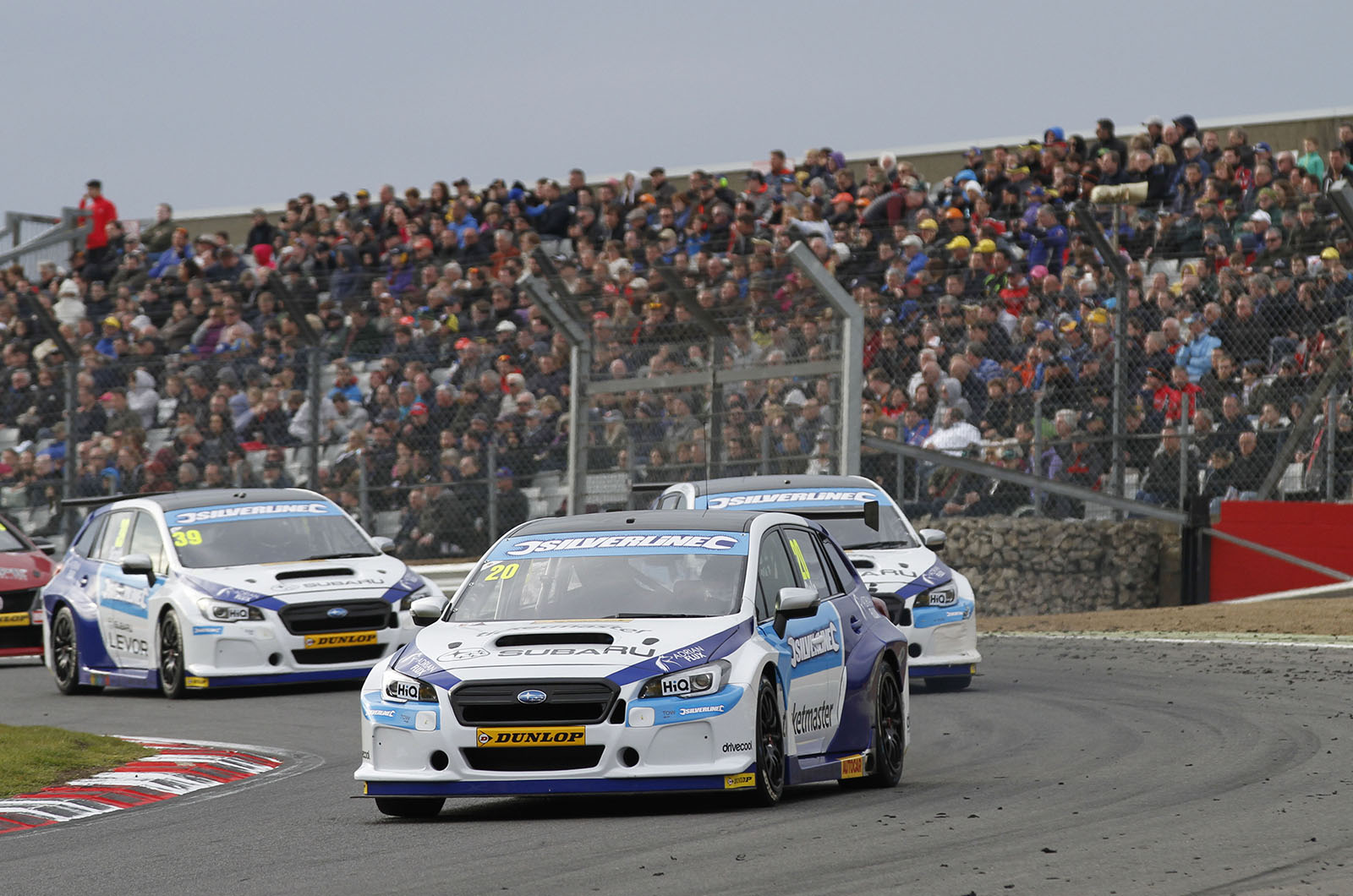 Subaru partnered with Team BMR to tackle the BTCC