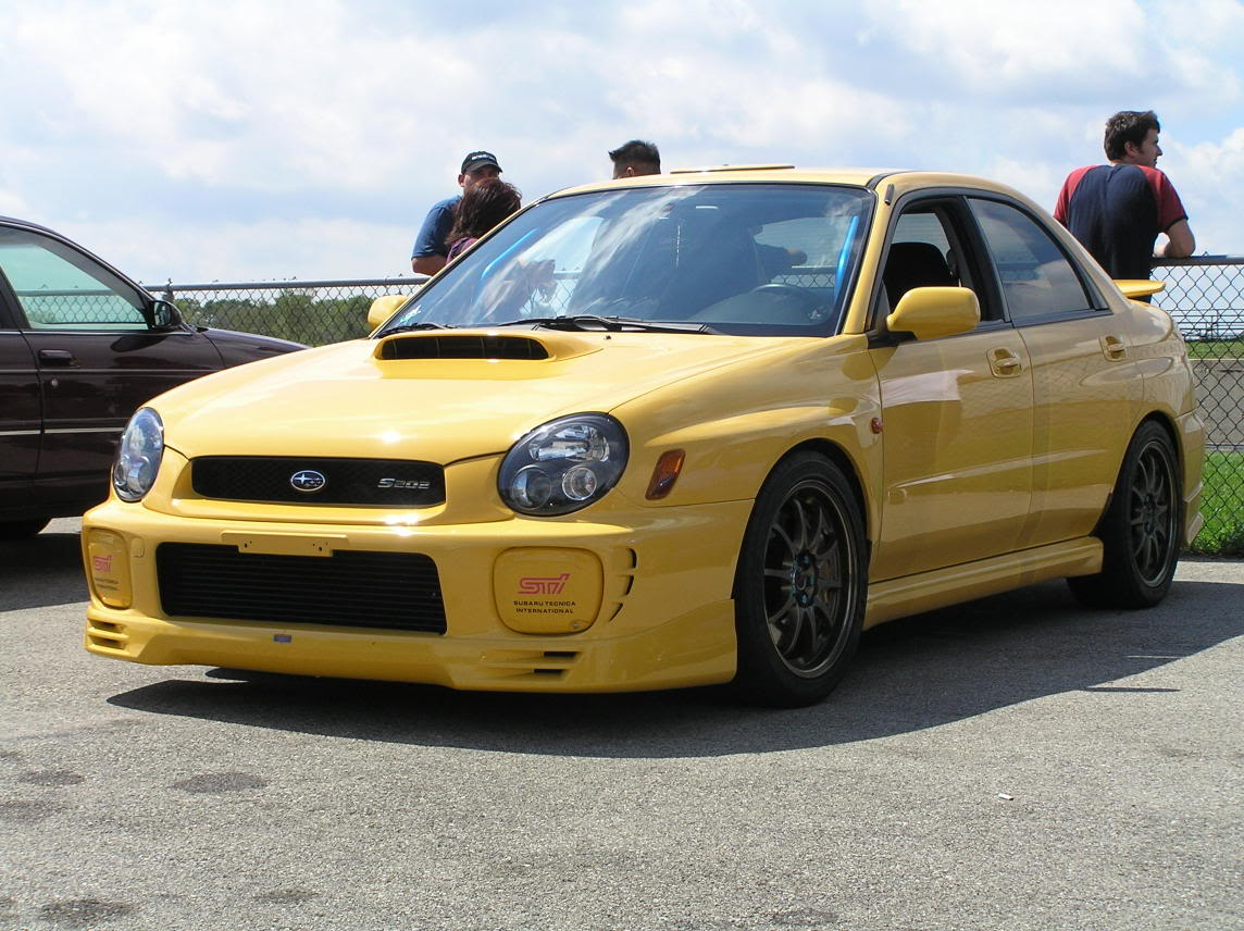 Some of the best Impreza specials didn't even make it out of Japan, the S202 being a good example