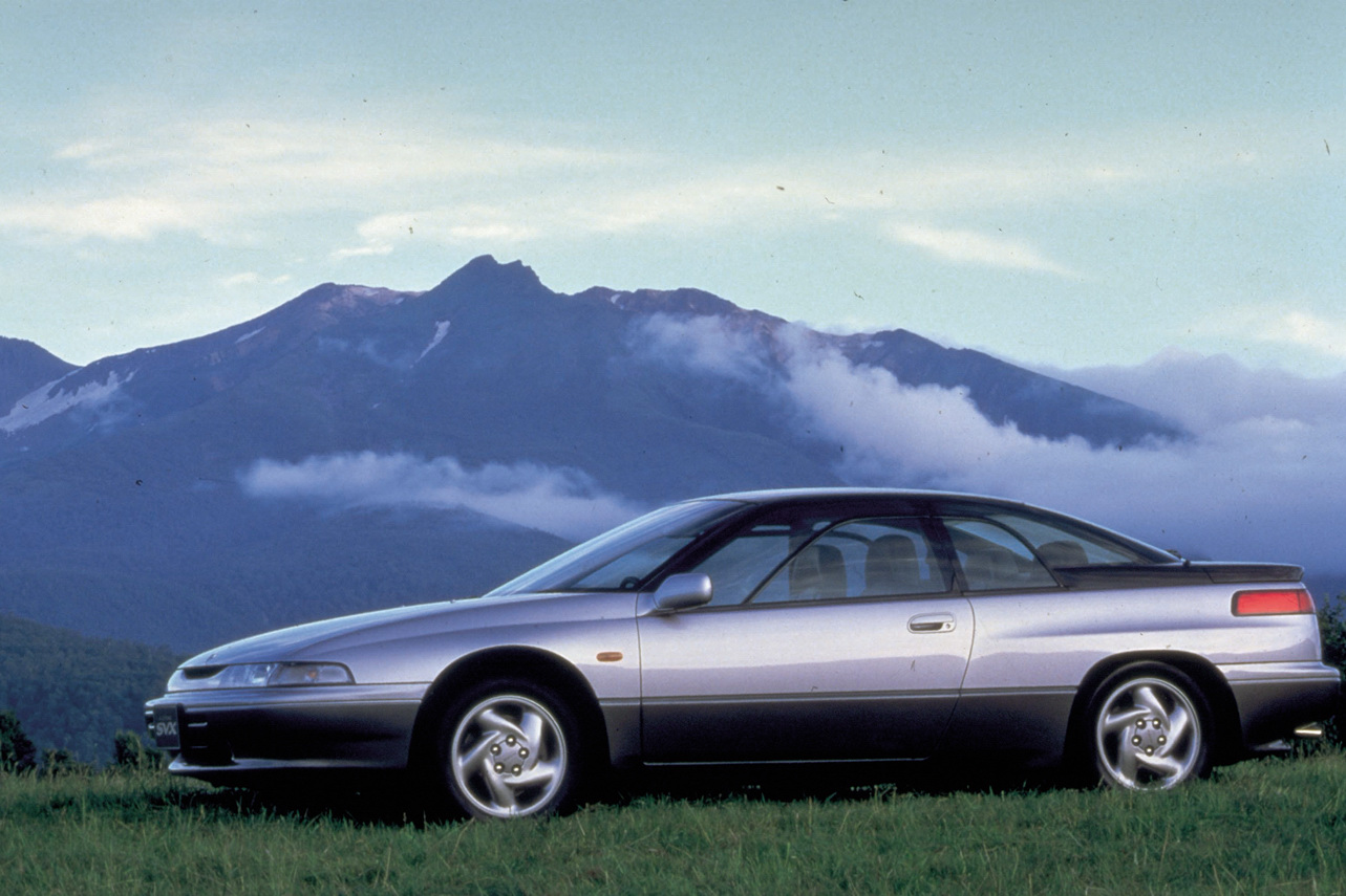 The SVX looks out there now, can you imagine what it must've looked like back in the early '90s?!