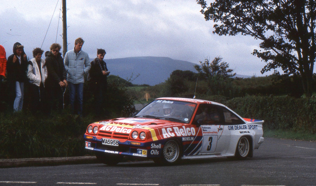 The Manta 400's greatest successes were in the British Rally Championship, with drivers like Jimmy McRae proving especially adept at getting the most from it