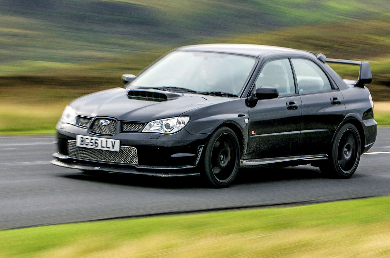 The Impreza RB320 was built to commemorate the passing of Richard Burns