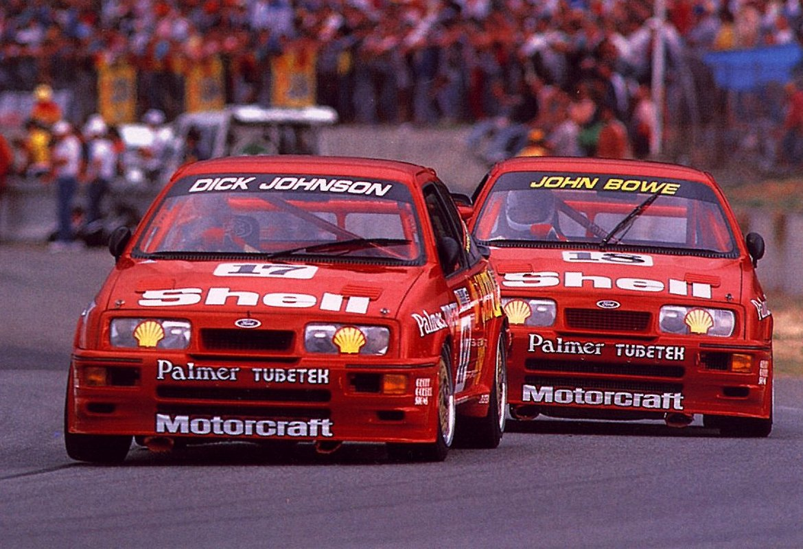 The Sierra Cosworth was a force to be reckoned with wherever it competed, including the Australian Touring Car Championship, a move that upset Holden