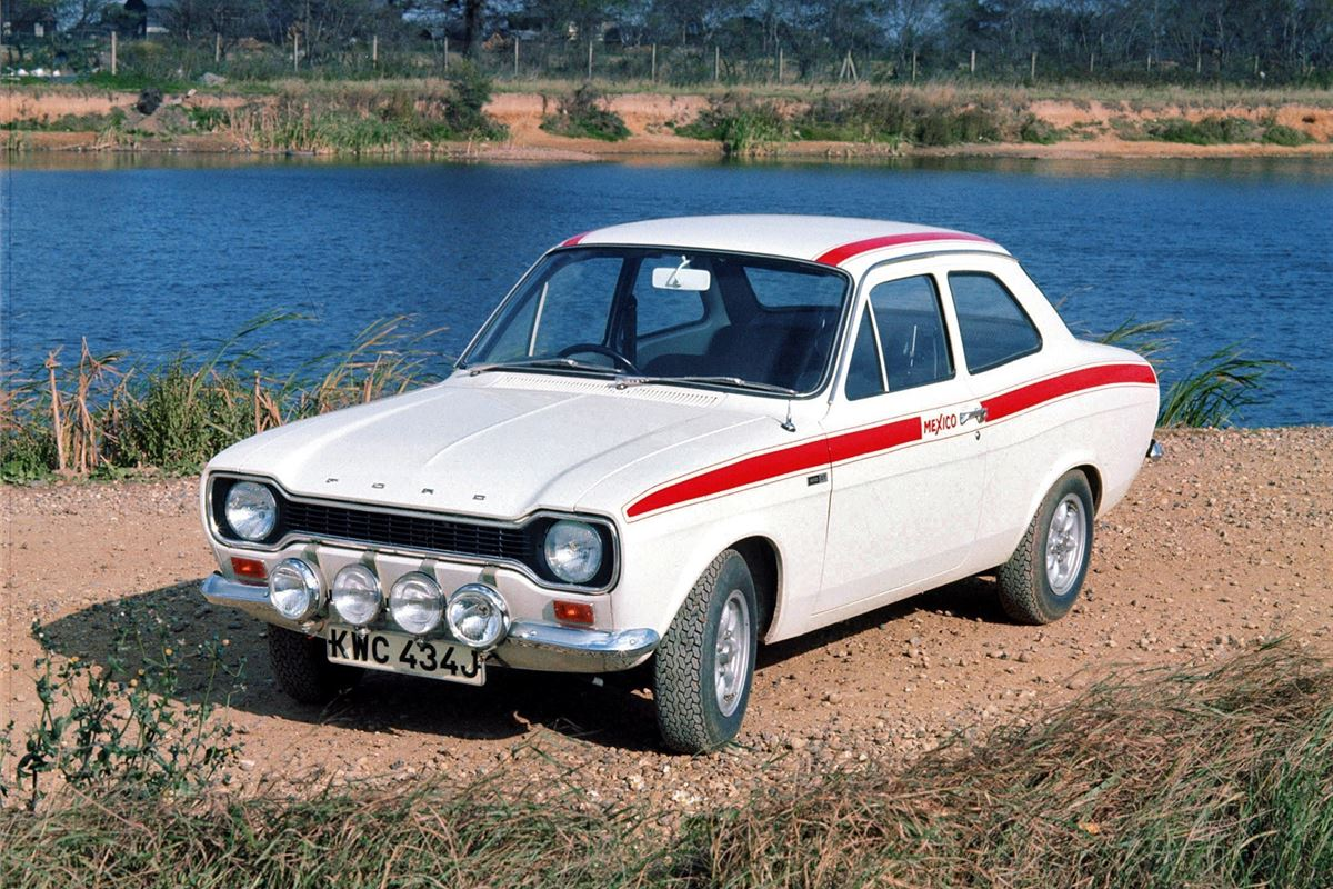 The first Escort Mexico played a large roll in kickstarting the UK's love for RS-badged Fords