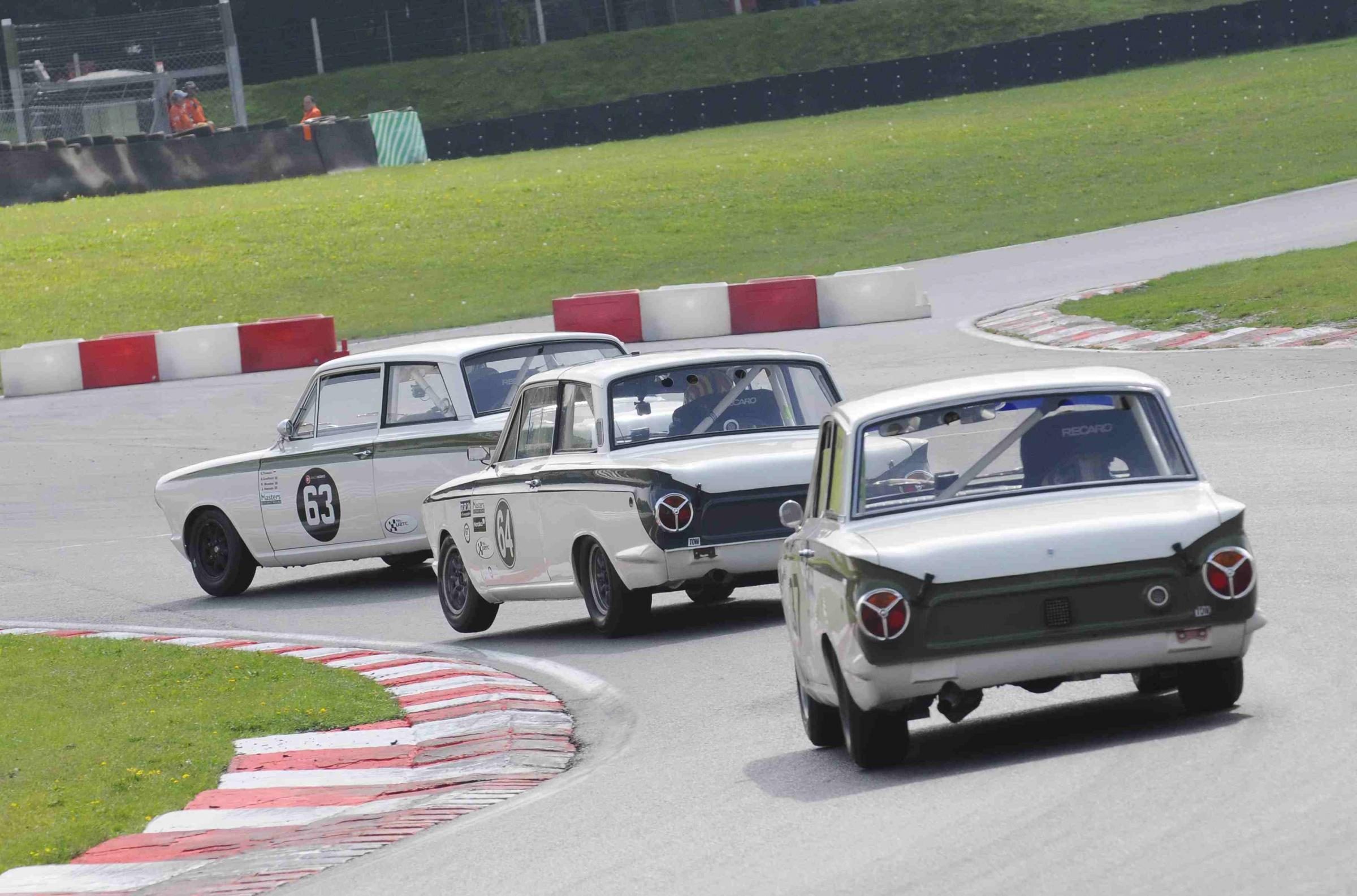 The Lotus Cortina spent the '60s battling against cars as diverse as the Mini Cooper and the Chevrolet Camaro