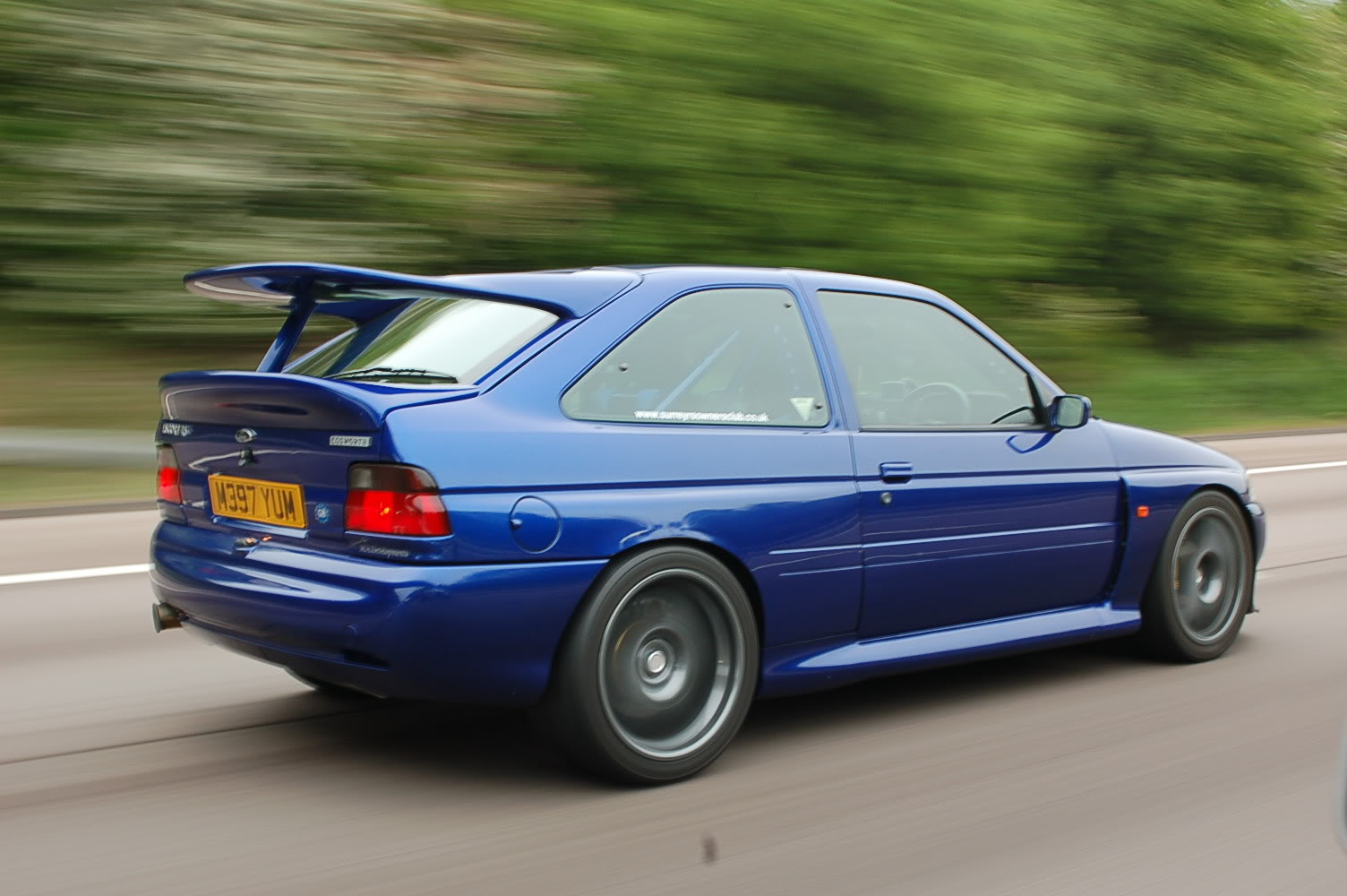 A large proportion of UK petrolhead's grew up wanting an Escort Cosworth more than their next breath