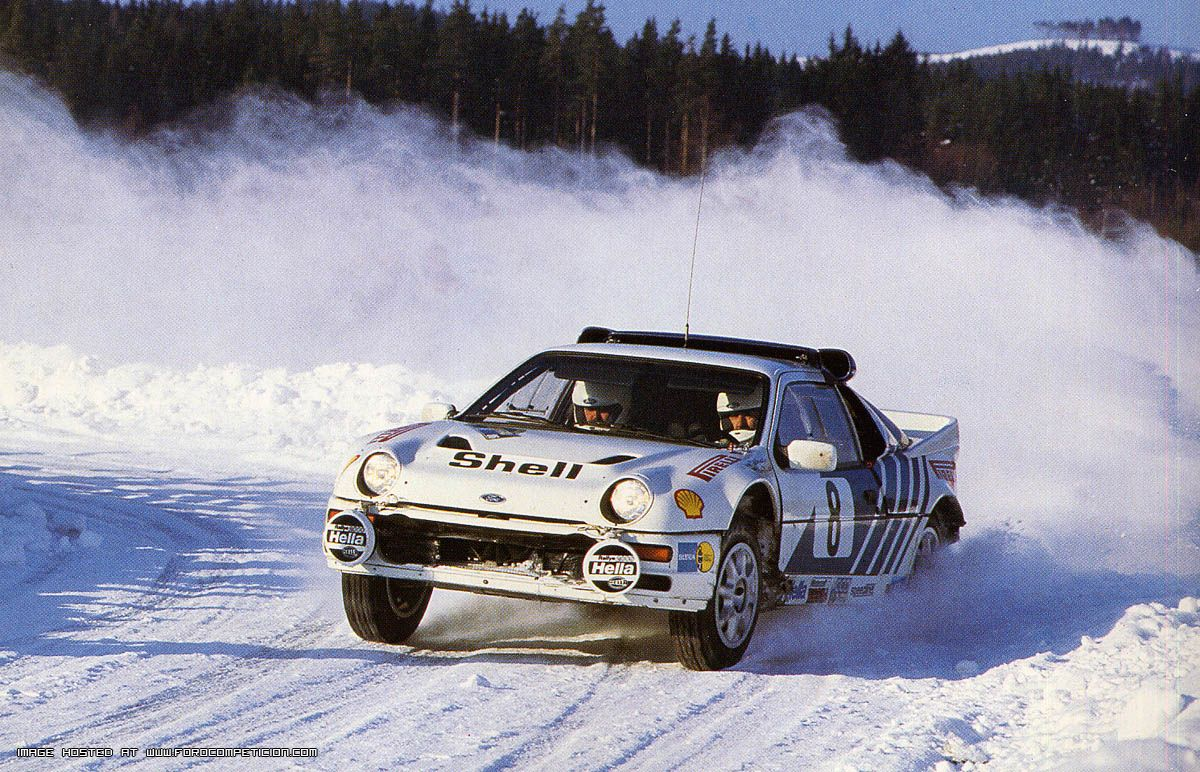 The RS200 had all the makings of a world beater, it was just too late to the Group B party to make an impact