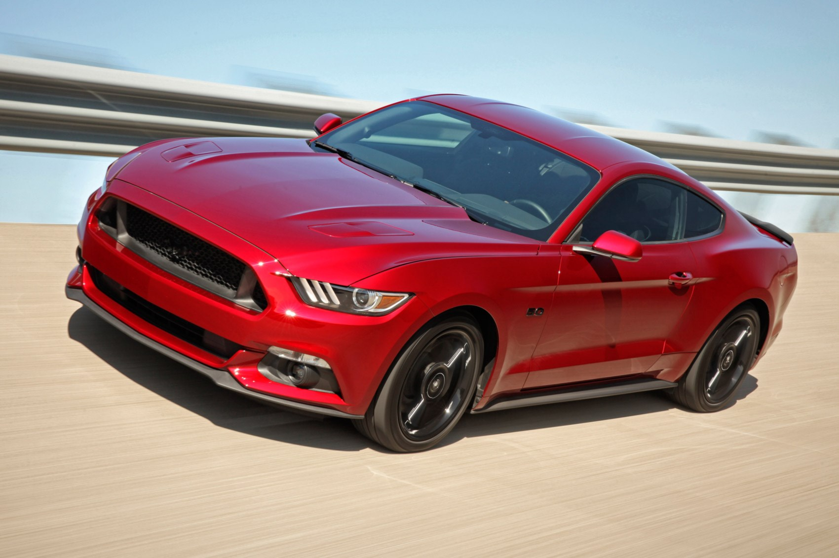 The latest Mustang is the first one that us UK folk have been able to get in right-hand drive