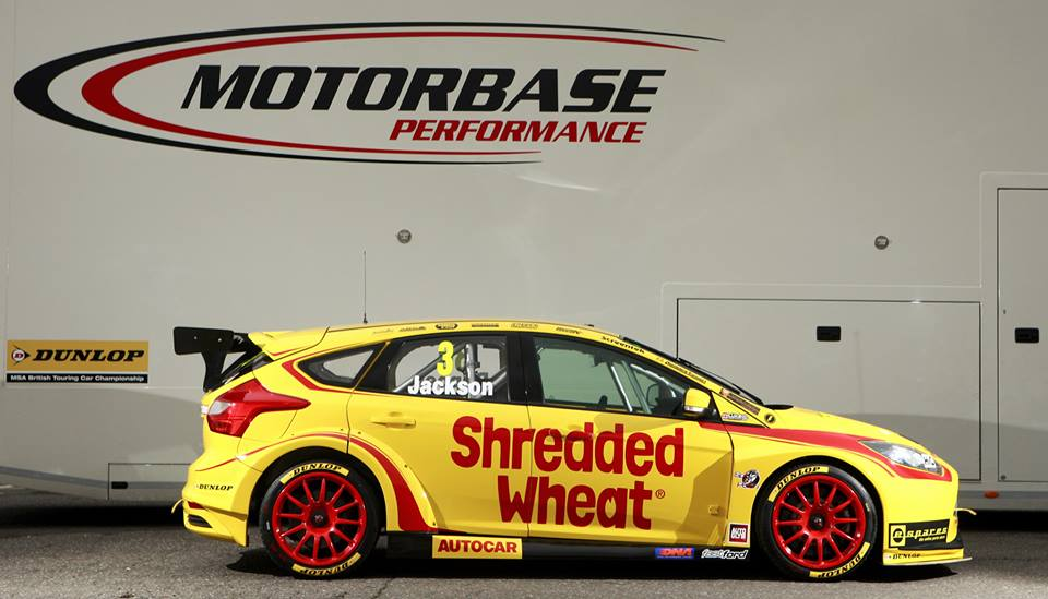 An eye-catching livery isn't the only thing in Motorbase's favour, they also have a quick car and a handy drive lineup