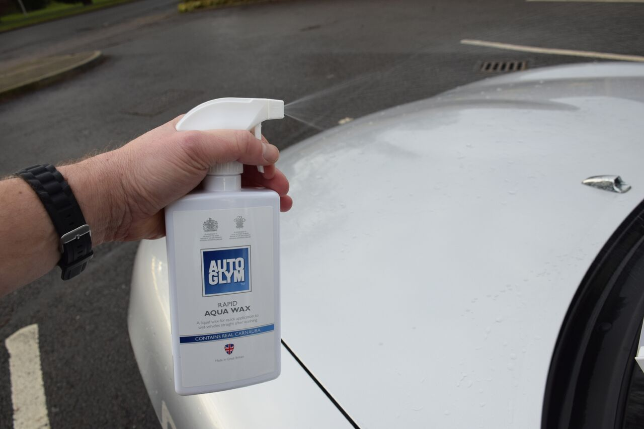 Rapid Aqua Wax is a wonderfully versatile product - the first line of defence when it comes to driveway detailing!