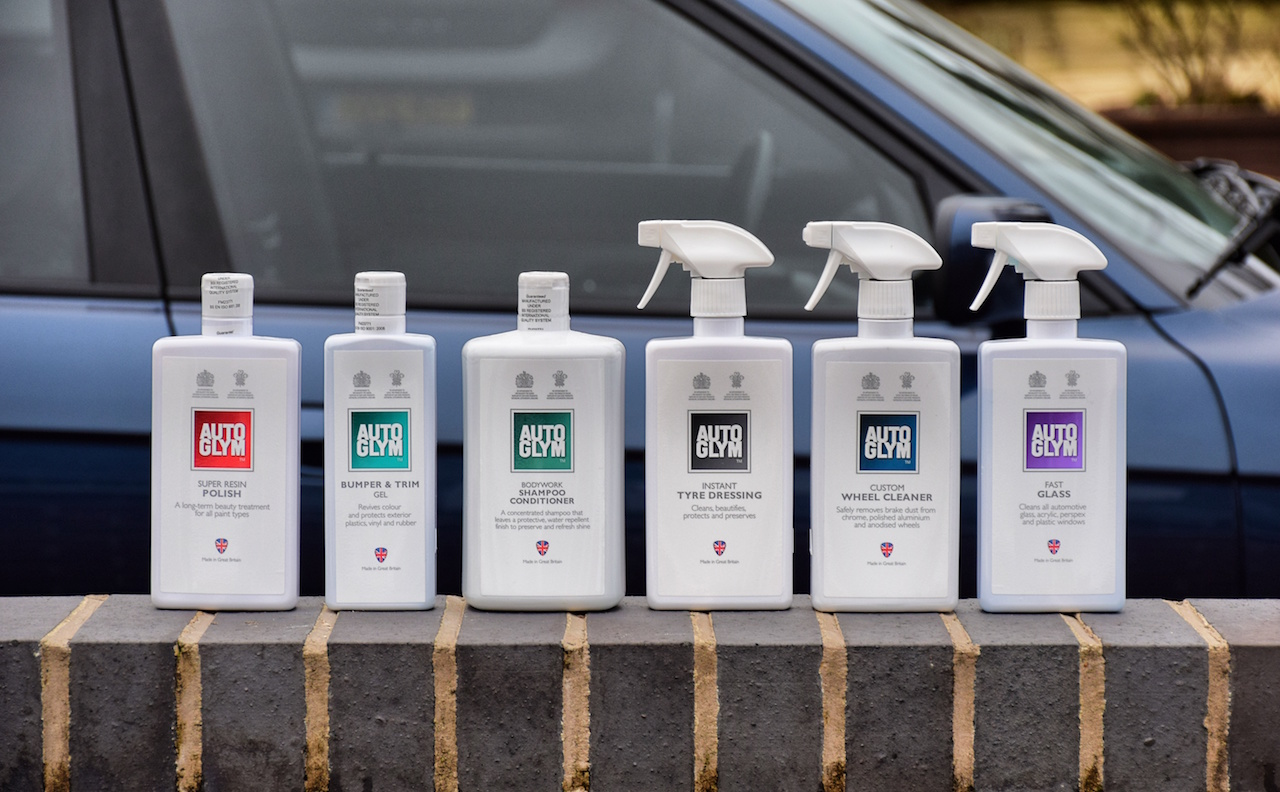 The Autoglym range contains everything needed to get your car looking match-fit, perfect for your big date!