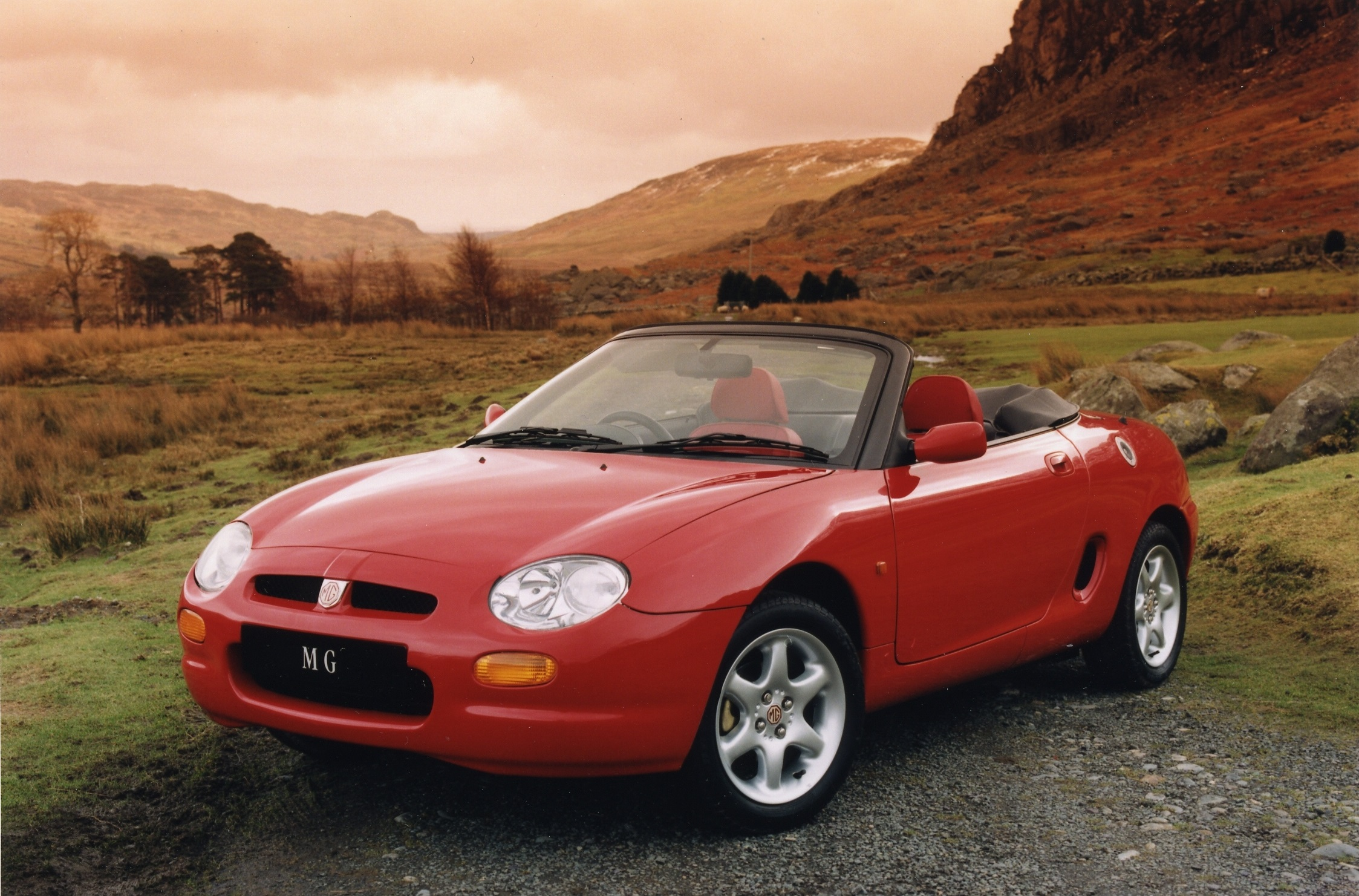 MG's '90s sports car used some fairly major bits of Metro DNA