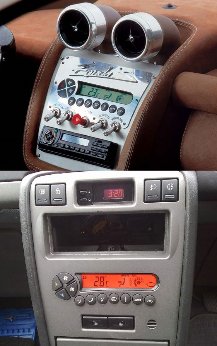 We wonder how many Zonda owners are aware of the origin of their heater controls...