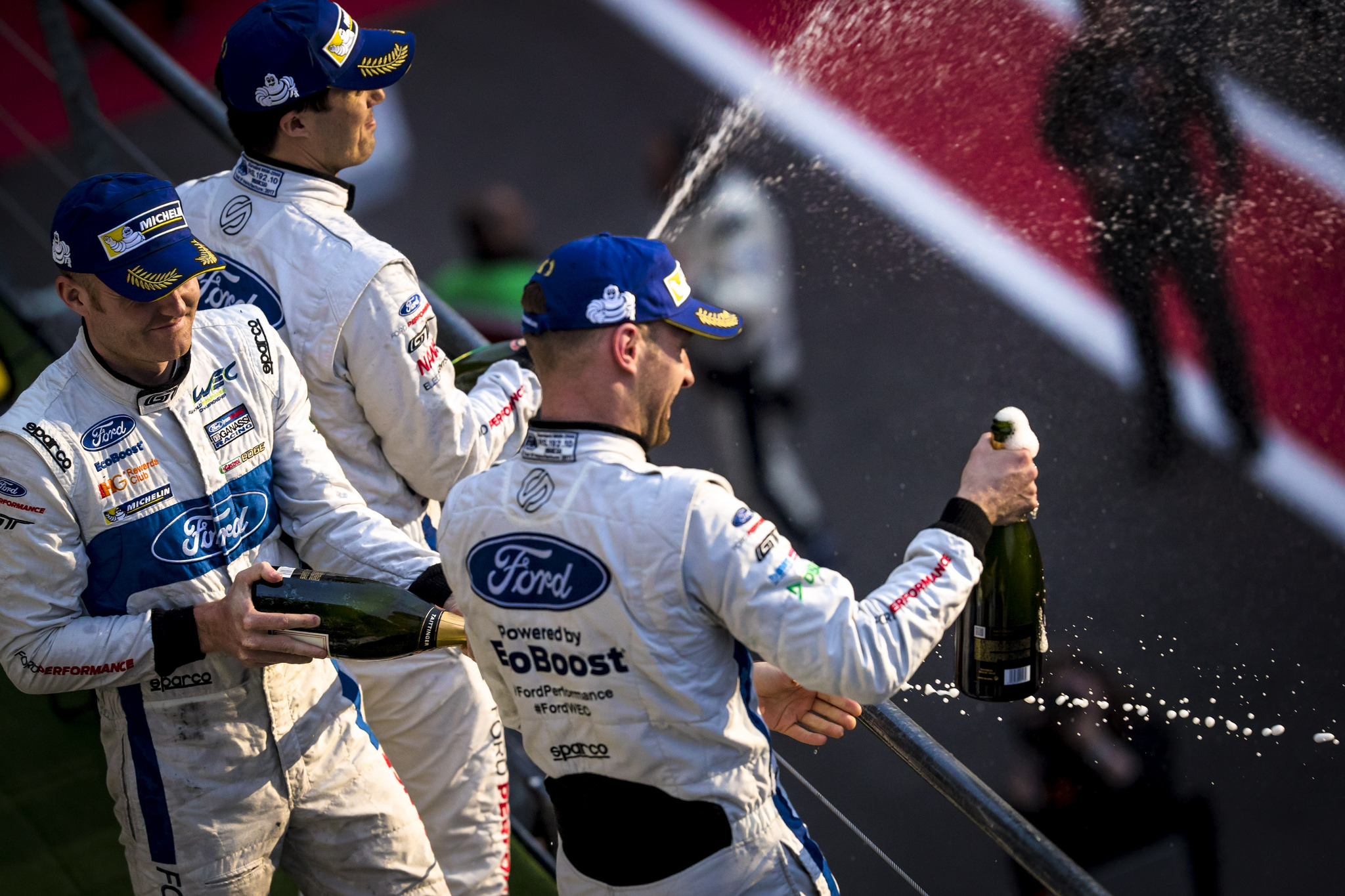 Sponsor News: Ford Chip Ganassi Racing takes podium finish at Spa