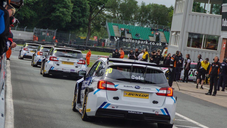Sponsor News: Double Podium For Adrian Flux Subaru Racing At Oulton Park