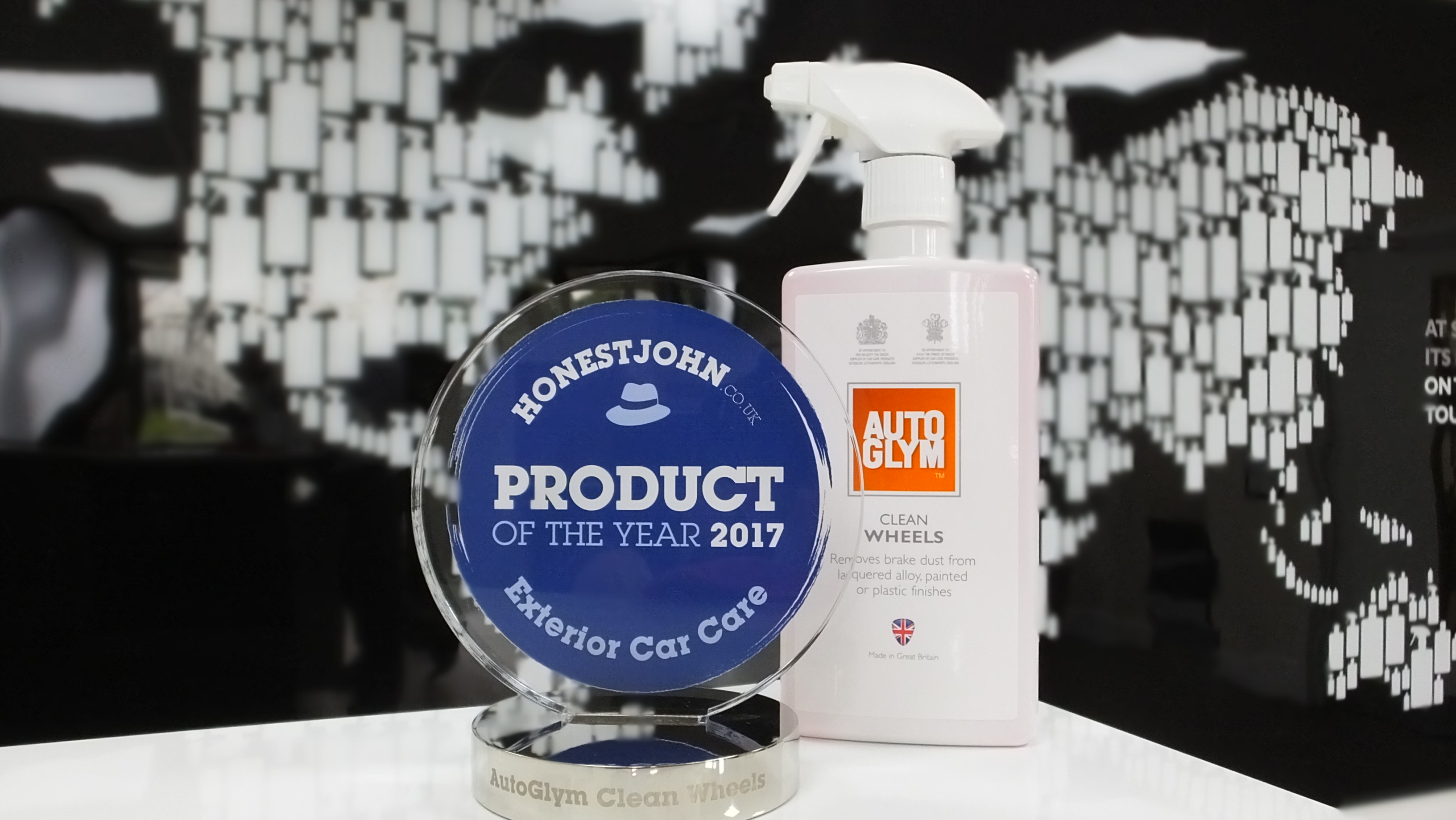 Autoglym Clean Wheels Wins Honest John Award