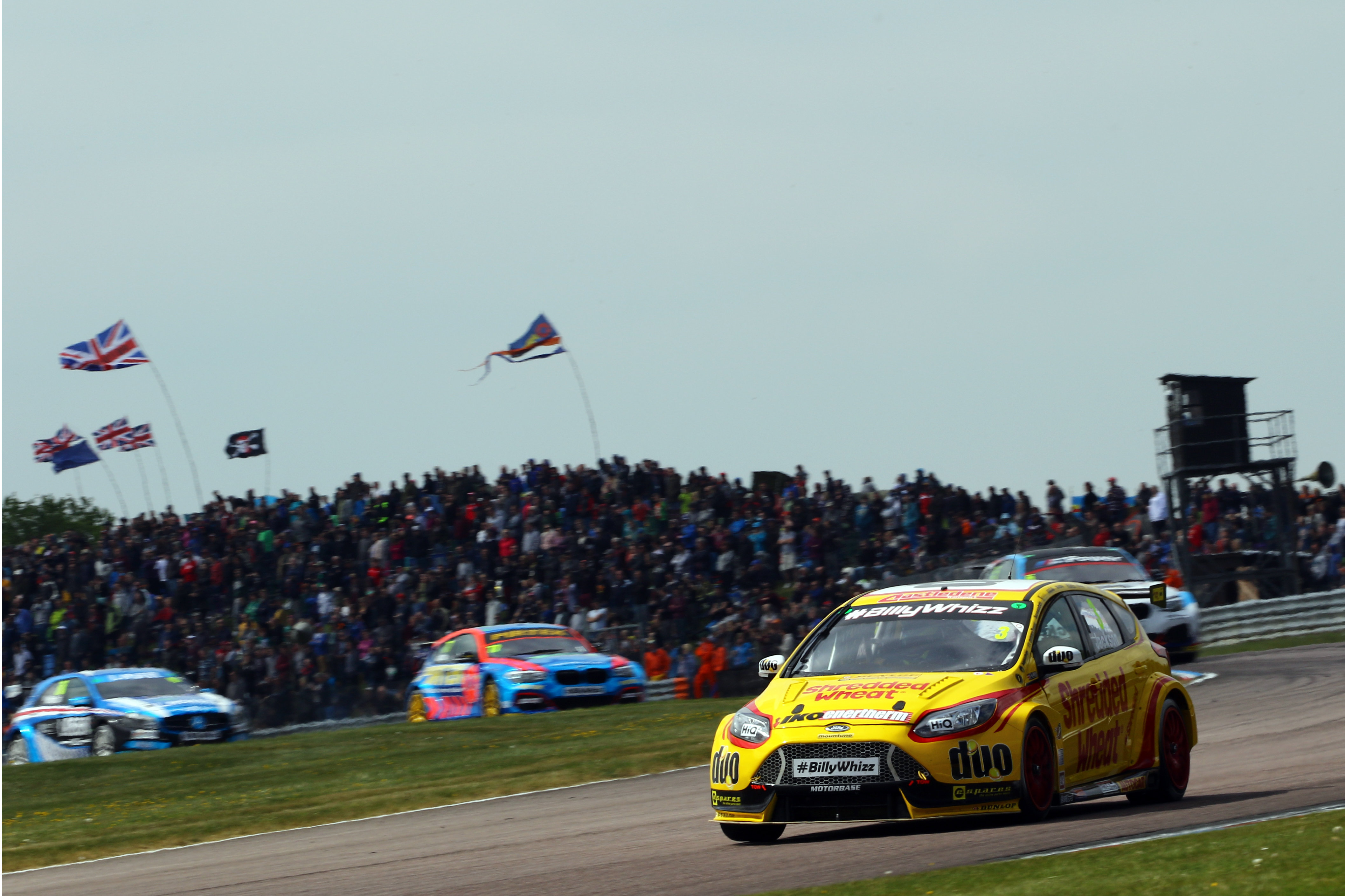 Sponsor News: Double Points for Team Shredded Wheat Racing with DUO at Thruxton