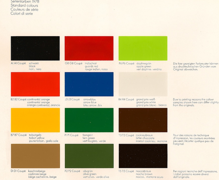 Ford Paint Colors