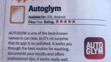 Autoglym App gets 5 Star Review ⭐️⭐️⭐️⭐️⭐️