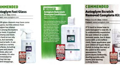 Autoglym Wins Multiple Auto Express Awards