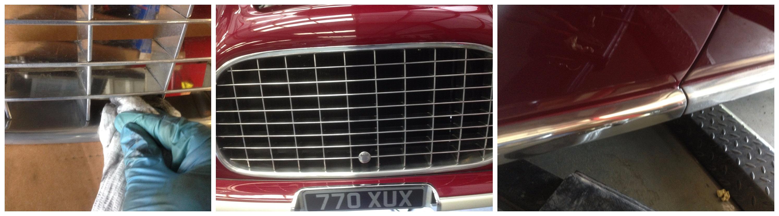 Ferrari Crate Grille : Ferrari tipo inter coupé pre show prep autoglym