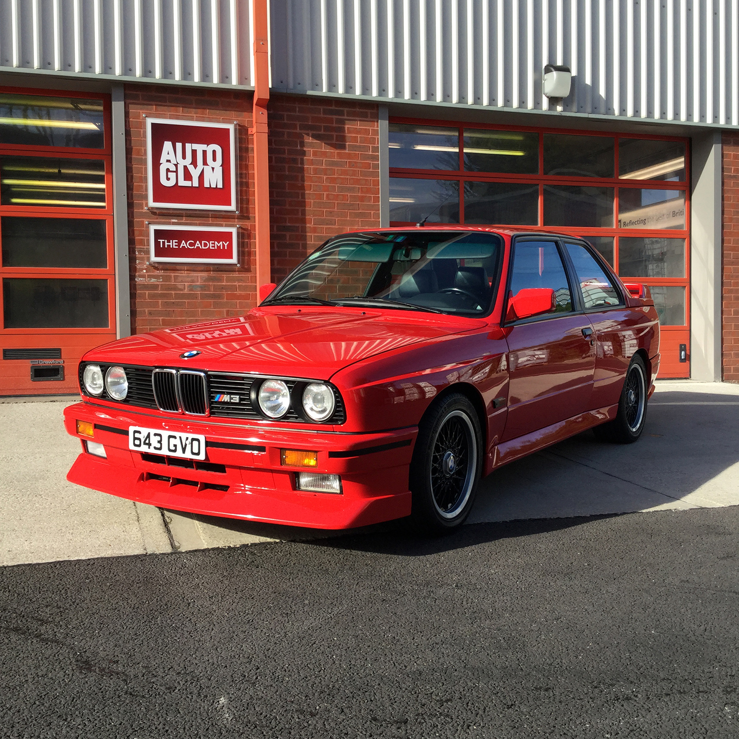 E30 M3 Cecotto Edition at Autoglym