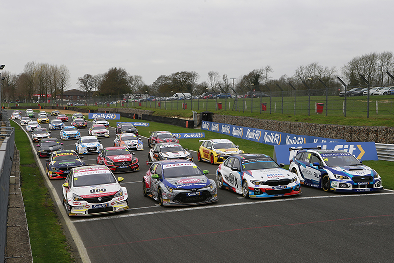 A Testing Day For The BTCC