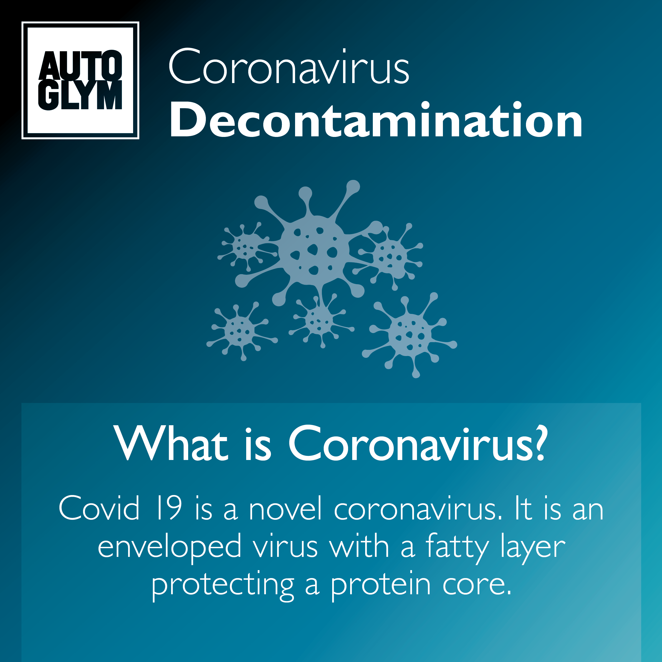 Coronavirus Decontamination Valeting Process