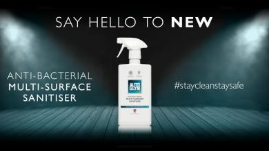Autoglym Anti-Bacterial Multi Surface Sanitiser