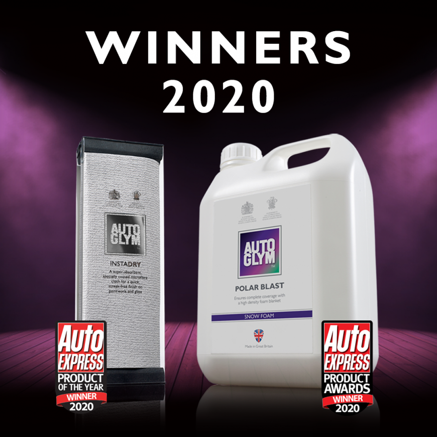 Autoglym Cleans Up At Auto Express Awards