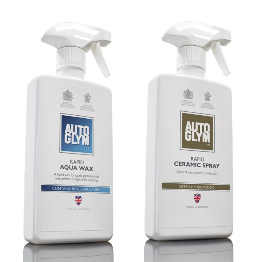 What is the difference between Rapid Ceramic Spray and Rapid Aqua Wax?